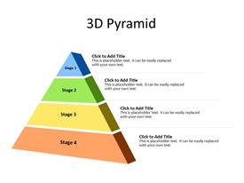 4 Steps of 3D Pyramid