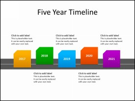 5 Year Timeline diagram