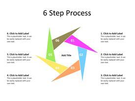 Circular steps diagram