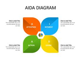 AIDA petals diagram