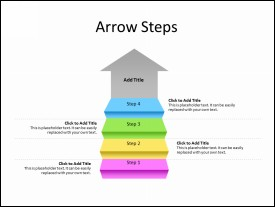 Arrow Steps diagram with 4 Stairs