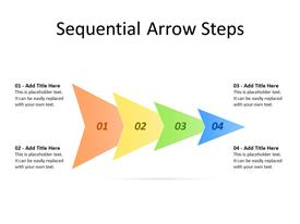 Four Arrows as different steps