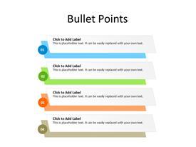 4 point bullet list