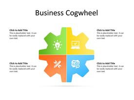 4 quadrants of cogwheel