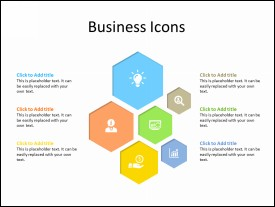 Set of 6 Business Icons