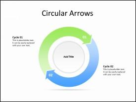 2 Circular Arrows
