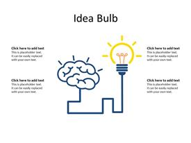 Innovative idea concept
