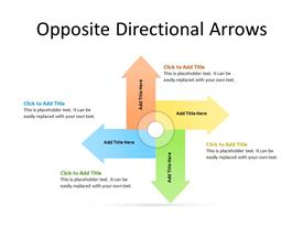 Four arrows in different directions
